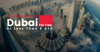 Top Places To Visit in Dubai For Free or Less Than 6 AED