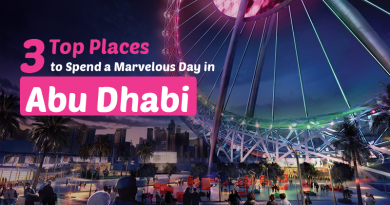 3 Places to Spend a Marvelous Day in Abu Dhabi